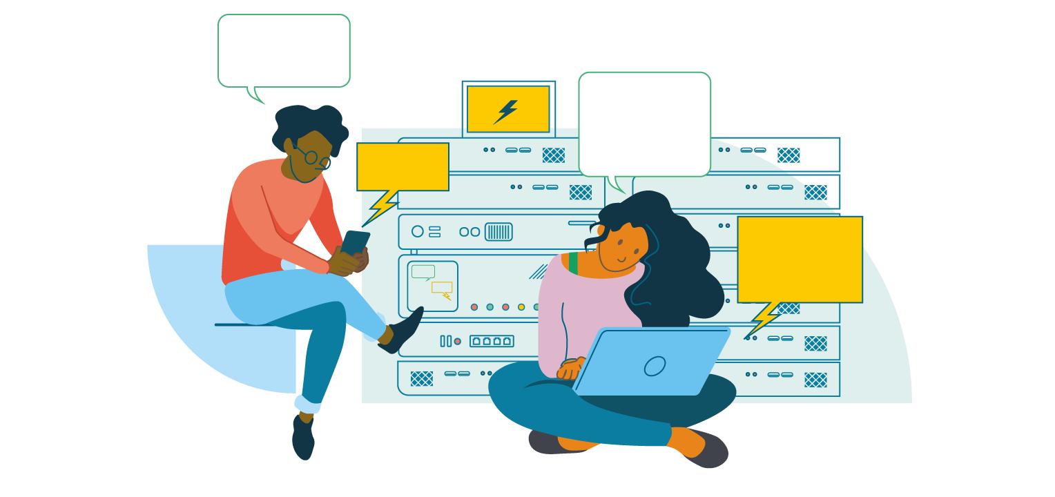 Chatbots kan gøre arbejdet lettere i servicedesken.