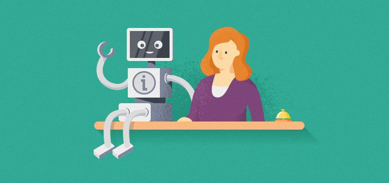 Er det muligt for den digitale workforce at overtage servicedesken? Læs mere her.